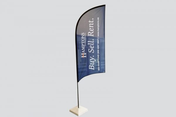 Curve Top Flags